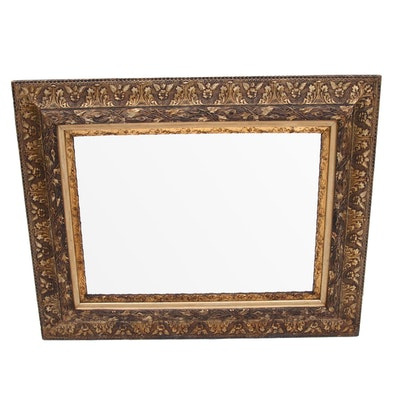 Baroque Style Giltwood Framed Mirror, Late 20th Century