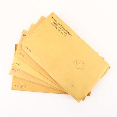 1957, 1959, 1961, 1962 and 1963 U.S. Mint Proof Sets