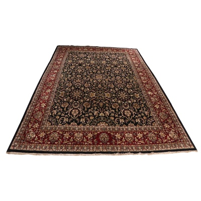 Power Loomed Persian Style Room Sized Wool Rug
