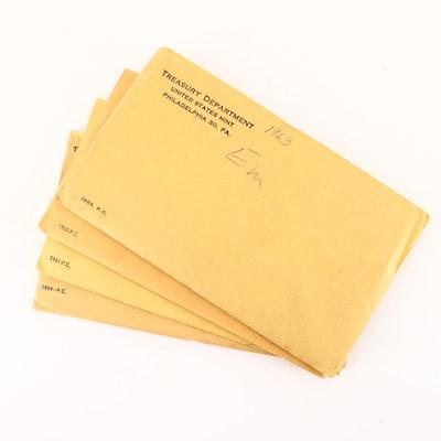 1959, 1961, 1962 and 1963 U.S. Mint Proof Sets