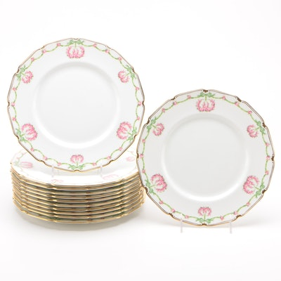 Royal Doulton Porcelain Dinner Plates, 1907-1910