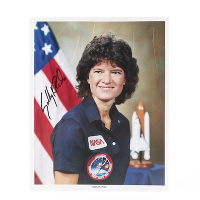 Sally K. Ride Signed Photograph