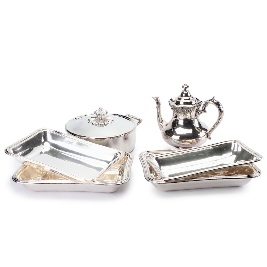 Silver-Plated Tableware and Trays