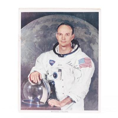Michael Collins Signed Astronaut Photograph