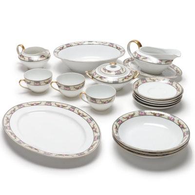 Victoria Czechoslovakia Dinnerware, Vintage