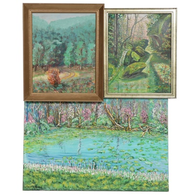 Leszek Pilarski Impressionist Style Paintings