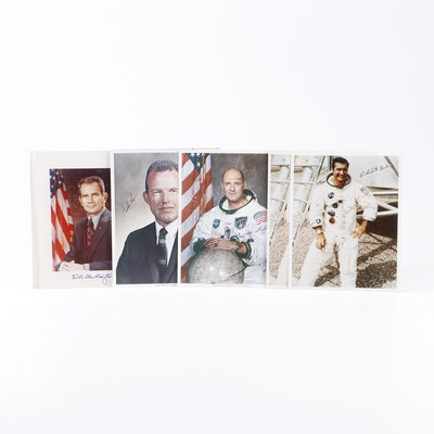 Signed Photographs of NASA Employees and Astronauts