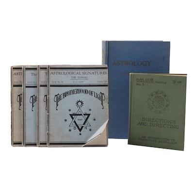 Vintage Astrology Books
