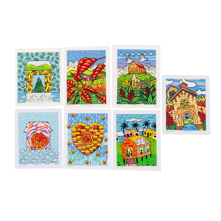 Tamburini Folk Art Serigraphs