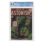 "1962 ""Tales to Astonish"" Issue #27 First Hank Pym Appearance, CGC Graded"