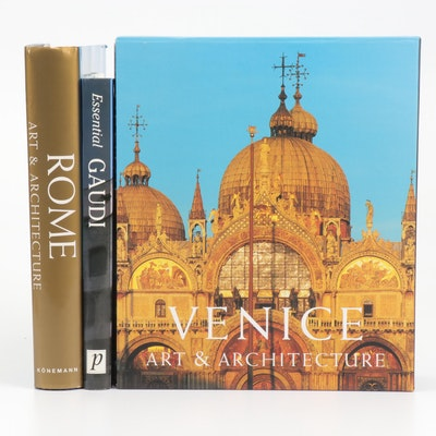 "Books on Architecture Featuring ""Venice Art & Atchitecture"" Box Set"