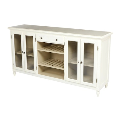 "Ballard Designs, ""Wisteria"" White-Painted Buffet"