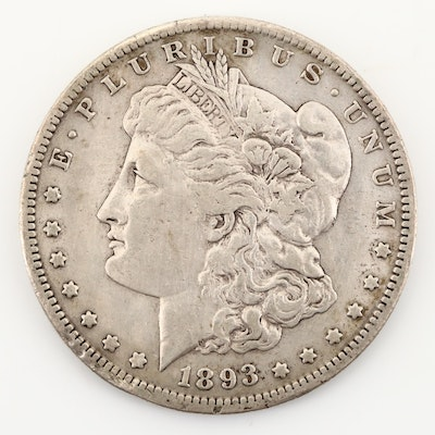 Key Date 1893-S Morgan Silver Dollar