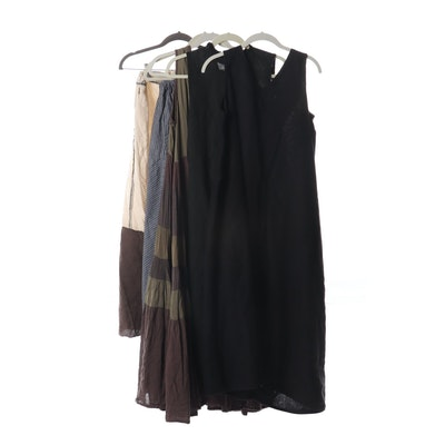Cynthia Ashby Sleeveless Casual Linen Dresses and Pants
