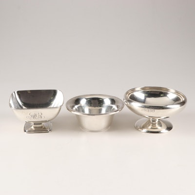 American Sterling Silver Diminutive Footed Bowls by Gorham and International