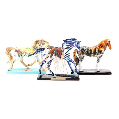 Horse of a Different Color and The Trail of Painted Ponies Figurines