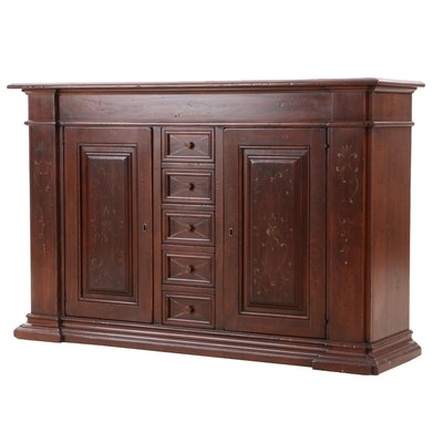 Arhaus, Italian Handcrafted and Paint-Decorated Buffet