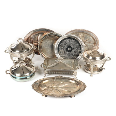 Silver Plated Heated Serveware