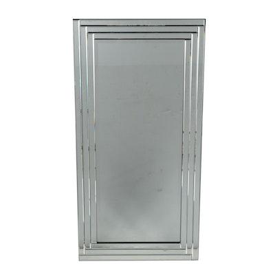 Beveled Panel Wall Mirror, Contemporary