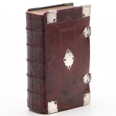 "1721 ""Book of Common Prayer"" Printed by John Baskett"