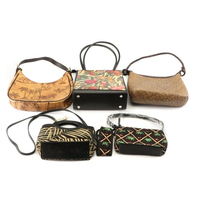 Angela Frascone, Fossil, Magid and Caribbean Joe Handbags and Shoulder Bags
