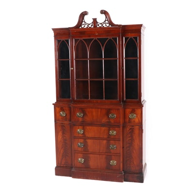 Finch Fine Furniture George III Style Mahogany China Cabinet