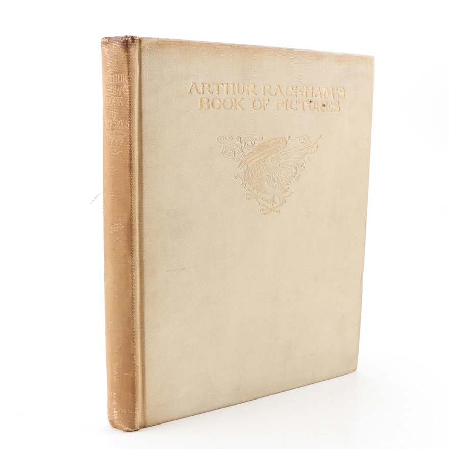"1913 Signed Limited Edition ""Arthur Rackham's Book of Pictures"""