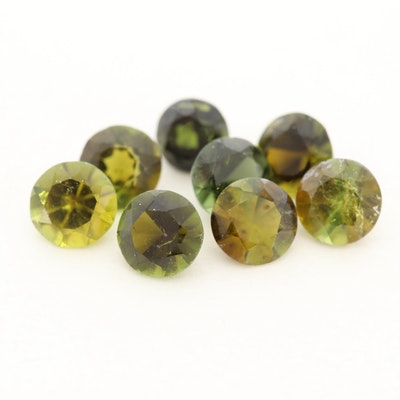 Loose 2.50 CTW Tourmaline Gemstones