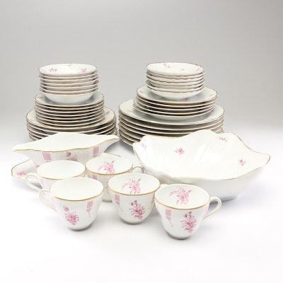 "Hutschenreuther ""Marina"" Porcelain Dinnerware, Circa 1962"