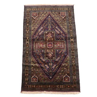 Hand-Knotted Bazaar Ahtamara Turkish Wool Rug