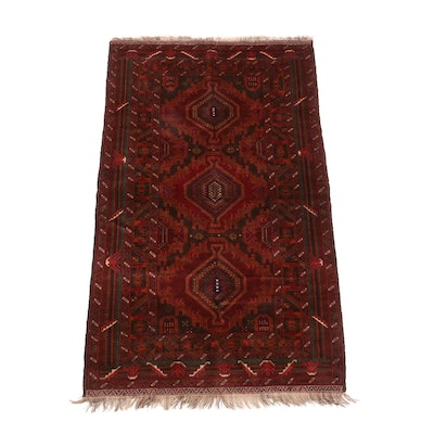 Hand-Knotted Bazaar Ahtamara Turkish Luri Wool Rug