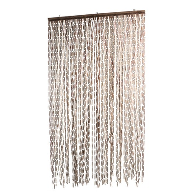 Wooden Bead Door Screen
