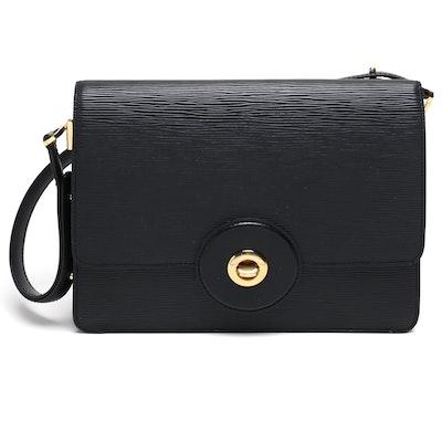 Louis Vuitton Black Epi Leather Friedland Pochette Bag