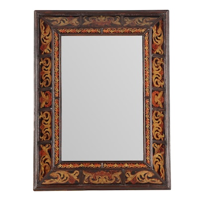 Decorative Wall Mirror with Bevelled Glass