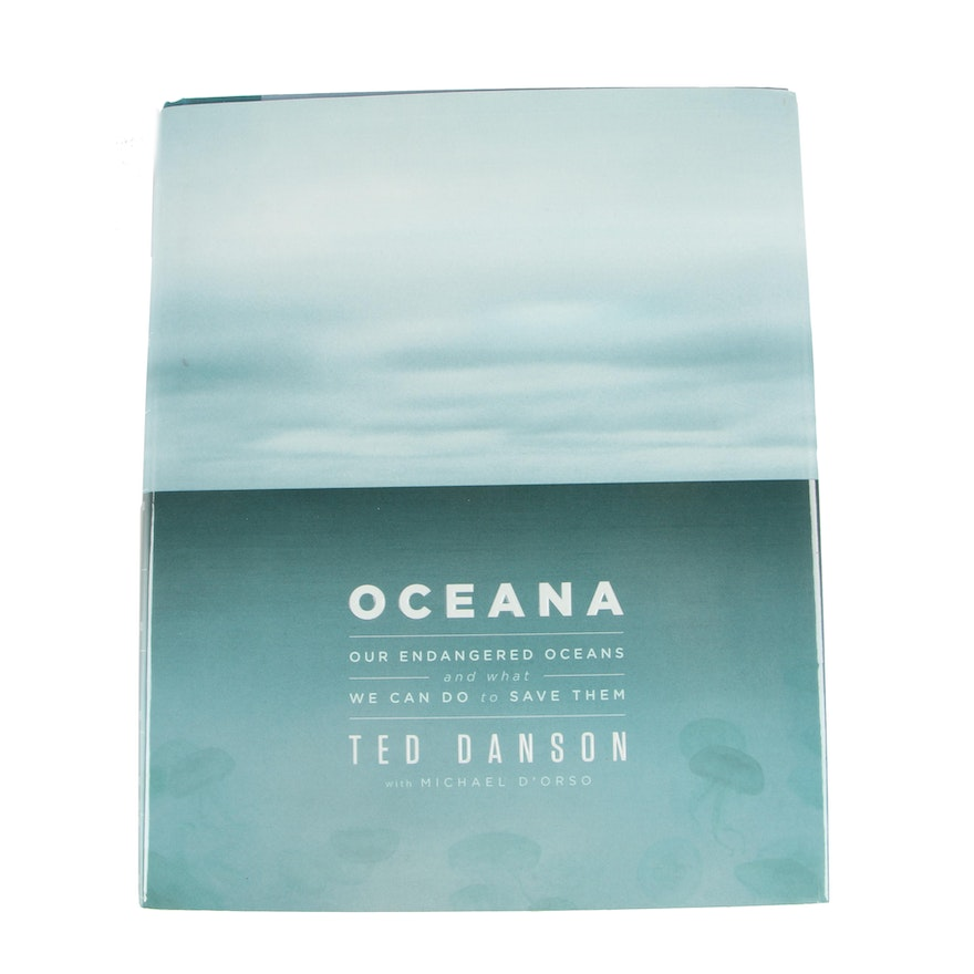 "Signed First Printing ""Oceana"" by Ted Danson with Michael D'Orso, 2011"