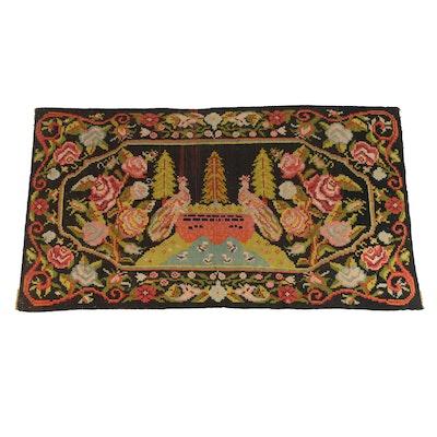 Handwoven Turkish Bessarabian Style Wool Kilim