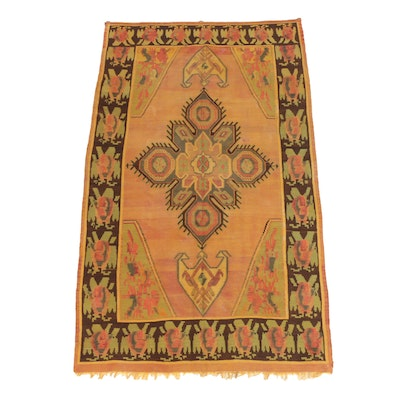 Handwoven Turkish Bessarabian Style Wool Engsi Tent Door Hanging