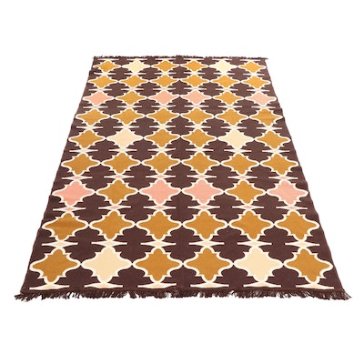 Machine Made Ogul Turkish Reversible Synthetic Kilim Rug