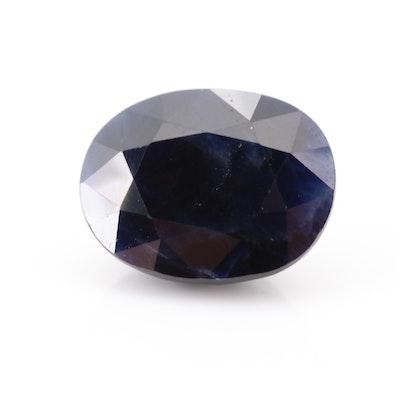 Loose 6.37 CT Sapphire