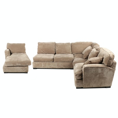 Robert Michael Ltd., Custom-Upholstered Sectional Sofa
