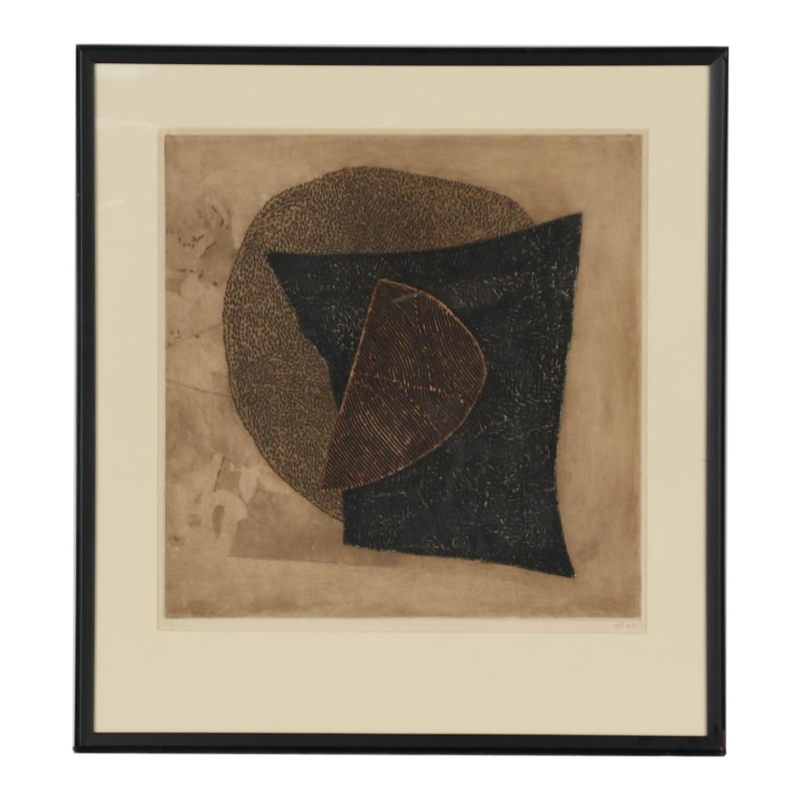Arthur Luiz Piza Abstract Etching