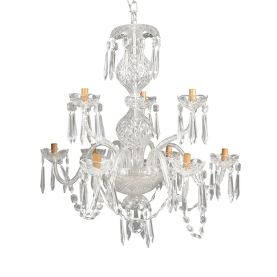 """Waterford Crystal """"Cranmore"""" Nine Light Chandelier Designed by Billy Canning"""