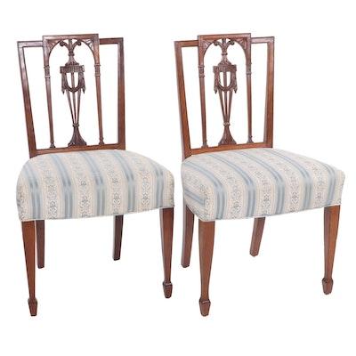 Neoclassical Mahogany Side Chairs, New York, Ca. 1810