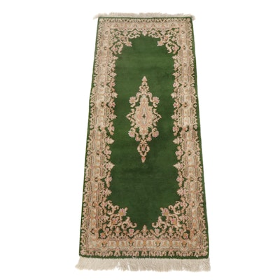 2'6 x 6'8 Hand-Knotted Persian Kerman Runner, circa 1980