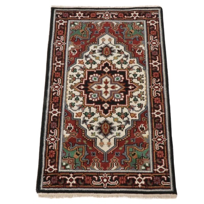 3'1 x 5'2 Hand-Knotted Indo-Persian Heriz Rug