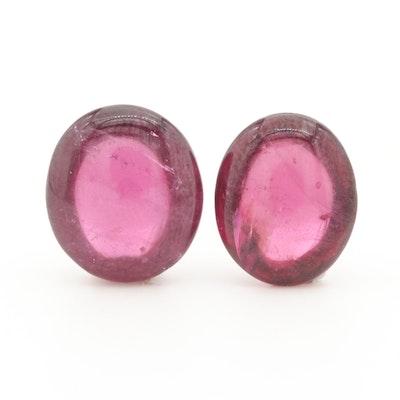 Loose 11.29 CTW Pink Tourmaline Gemstones