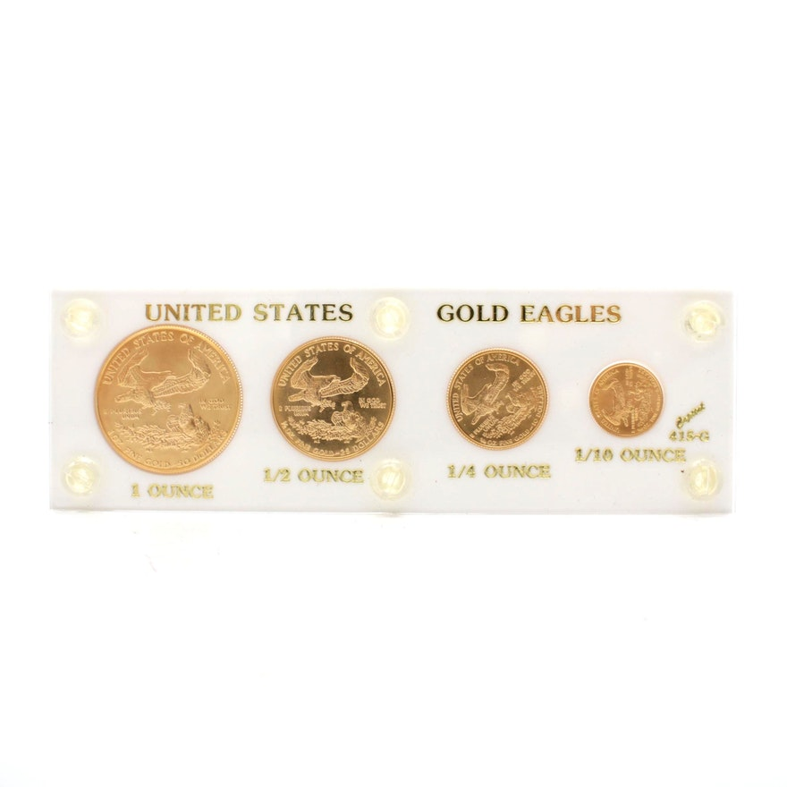 1986 United States American Eagle Gold Bullion Coins