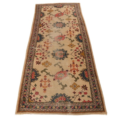 4'10 x 12'6 Hand-Knotted Northwest Persian Rug