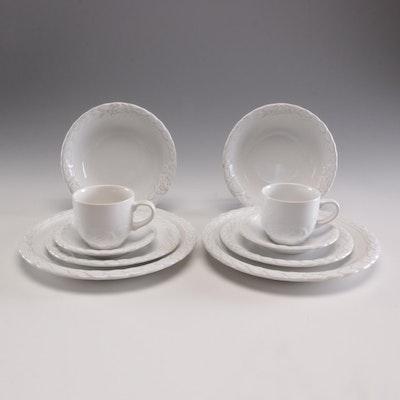 "Christian Dior ""French Country Rose"" Ceramic Dinnerware, Circa 1990s"