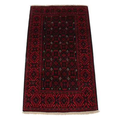 3'2 x 5'11 Hand-Knotted Persian Baluch Rug, circa 1970